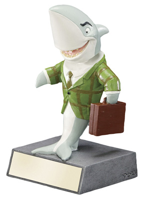 52620GS SHARK WITH BRIEFCASE