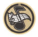 19243-G MUSIC NOTE