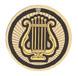 19244-G MUSIC LYRE